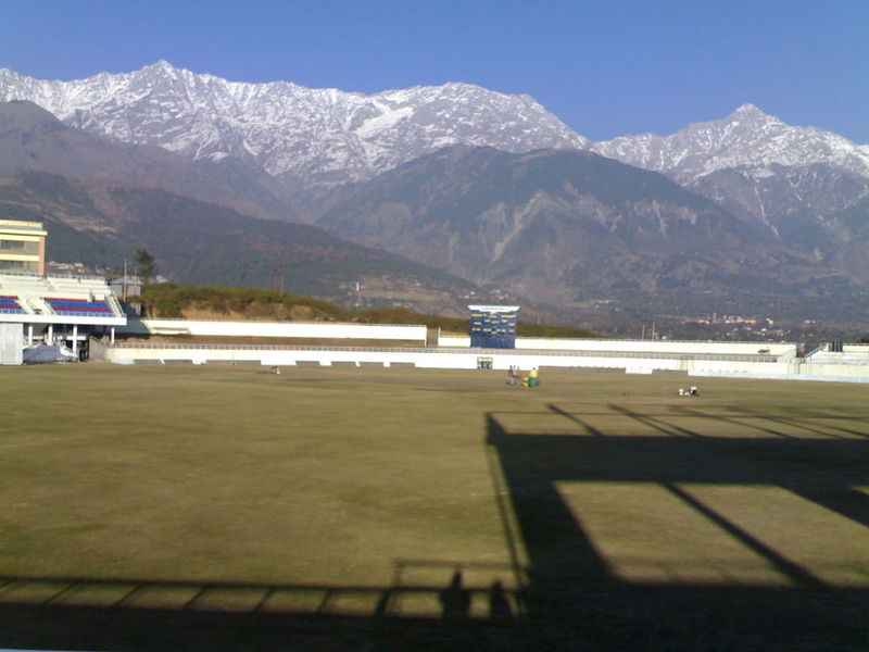 Cricket ground at Dharamshala (1/4)