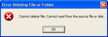 how to delete files to destroy booting