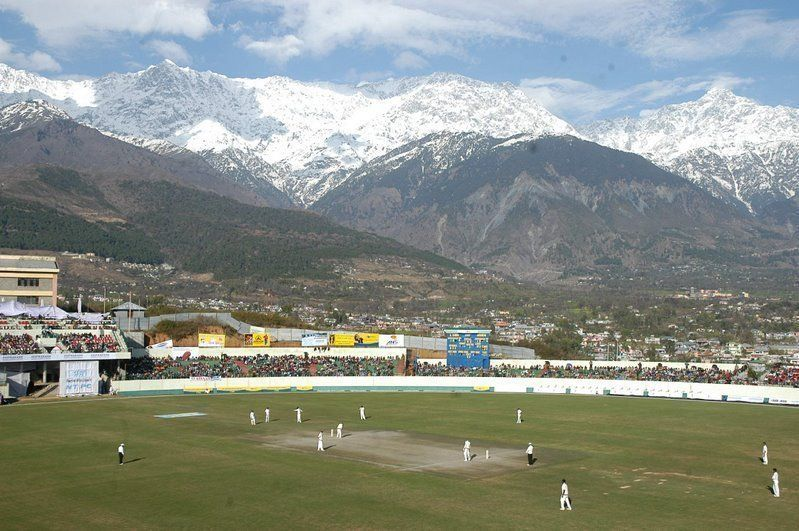 Cricket ground at Dharamshala (2/4)